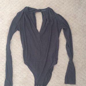 Top shop long sleeve bodysuit